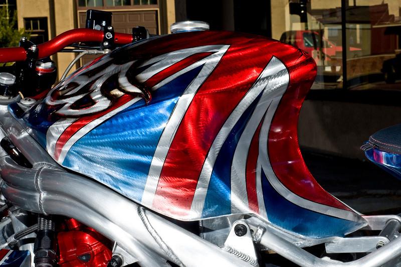 Union Jack Triumph Speed Triple
